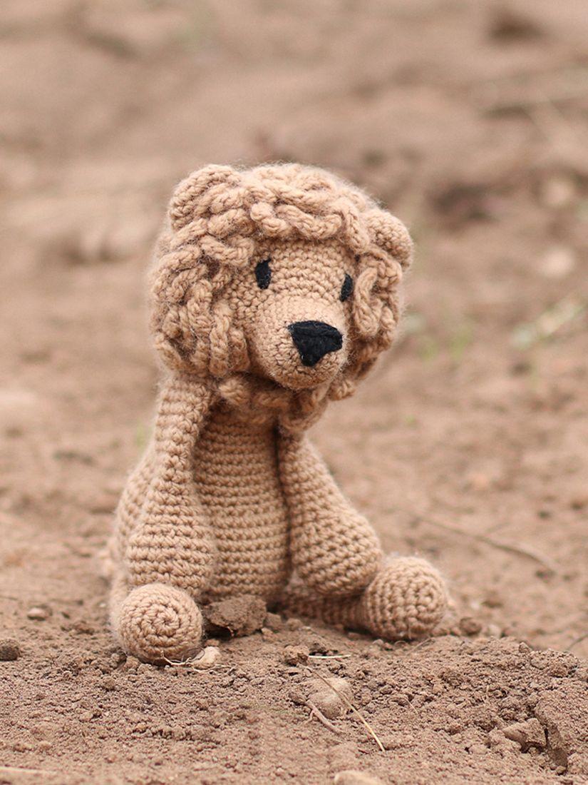 Buy Toft Rufus the Lion Crochet Kit John Lewis