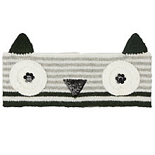 Buy John Lewis Owl Headband, Charcoal Online at johnlewis.com