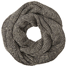 Buy John Lewis Luxe Wool Blend Snood, Grey Online at johnlewis.com