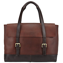 Buy JOHN LEWIS & Co. Leather Tote Bag, Brown Online at johnlewis.com