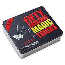 Buy Marvin's Magic 50 Amazing Magic Tricks Pack Online at johnlewis.com