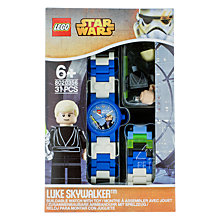 Buy LEGO Star Wars Luke Skywalker Watch Online at johnlewis.com
