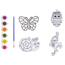 Buy John Lewis Paint Your Own Sun Catchers Kit Online at johnlewis.com