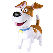 Buy The Secret Life of Pets Deluxe Talking Plush Soft Toy, Assorted Online at johnlewis.com
