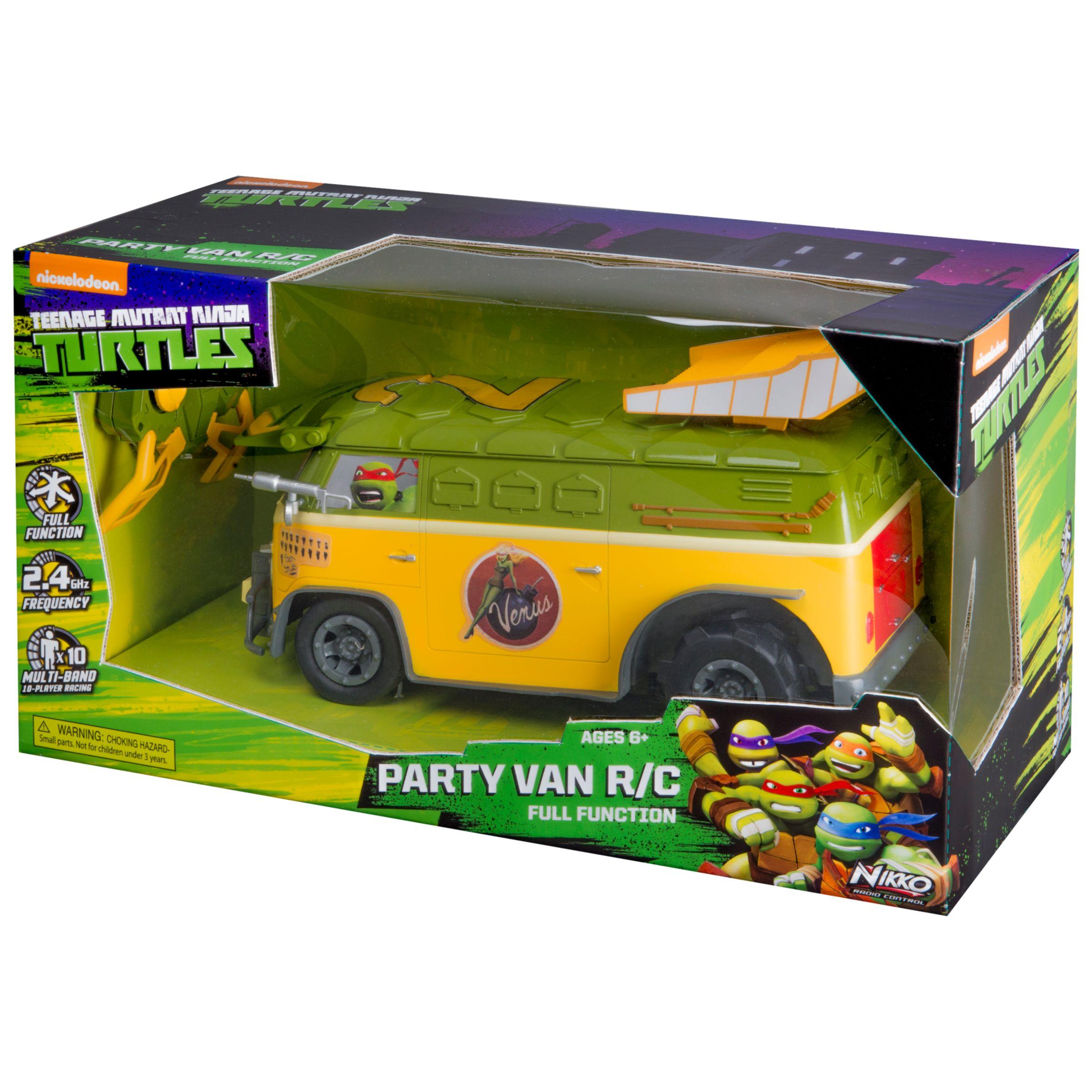 Nikko Nikko Teenage Mutant Ninja Turtles RC Party Van