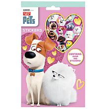 Buy The Secret Life of Pets 700 Stickers Pack Online at johnlewis.com
