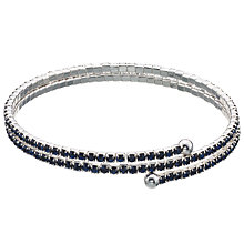 Buy John Lewis Skinny Wrap Diamante Bracelet Online at johnlewis.com