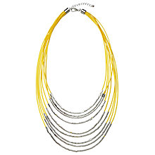 Buy John Lewis Layered Cord Necklace Online at johnlewis.com