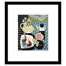 Buy Jane Walker - Pomegranate and Figs Limited Edition Framed Linocut, 53 x 50cm Online at johnlewis.com