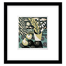 Buy Jane Walker - Black Circles Limited Edition Framed Linocut, 50 x 53cm Online at johnlewis.com
