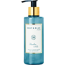 Buy Shay & Blue Framboise Noire Body & Hand Wash, 200ml Online at johnlewis.com