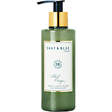 Buy Shay & Blue Blood Oranges Body & Hand Wash, 200ml Online at johnlewis.com