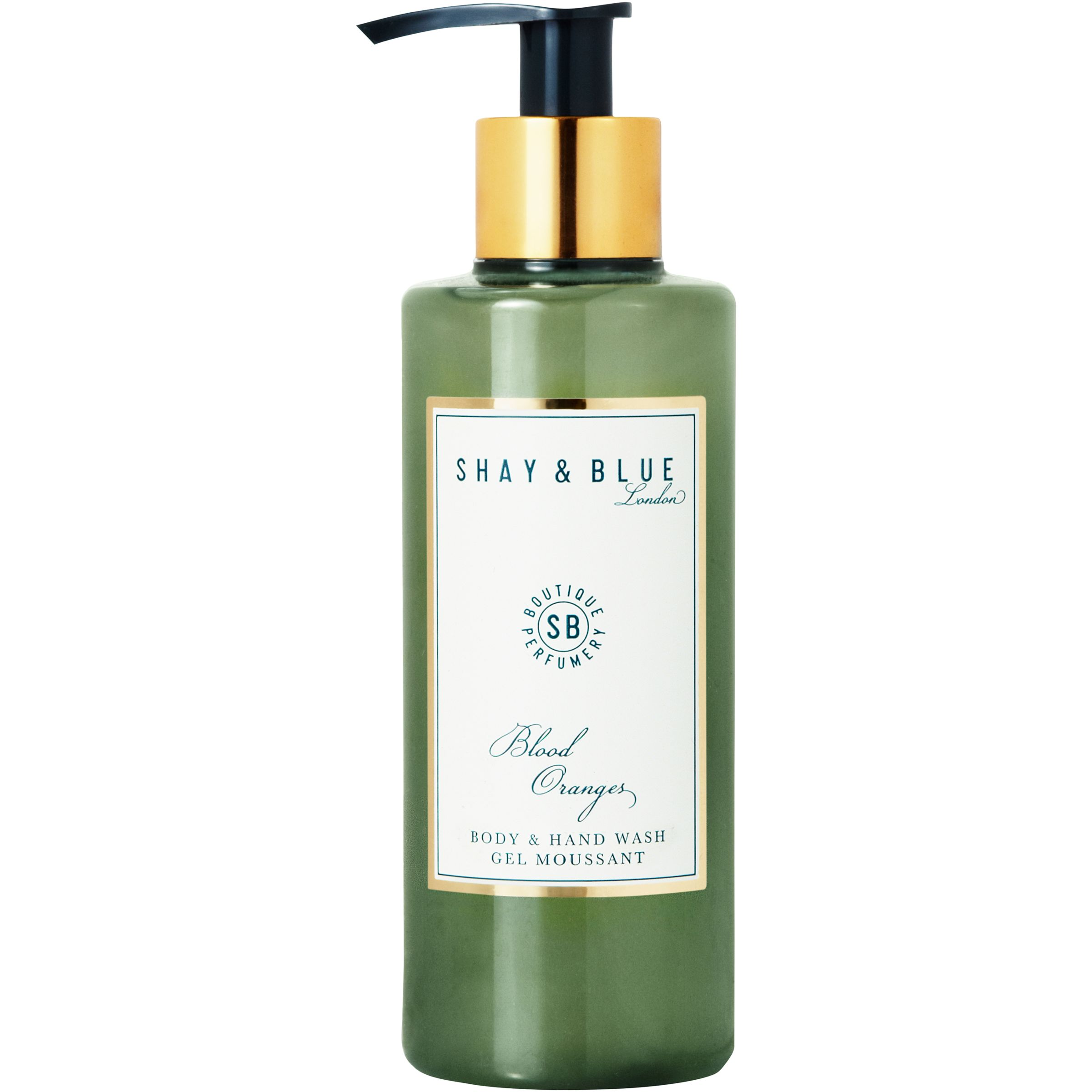 Shay & Blue Shay & Blue Blood Oranges Body & Hand Wash, 200ml