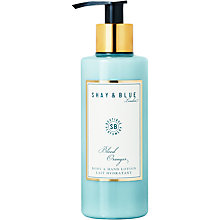 Buy Shay & Blue Blood Oranges Body & Hand Lotion, 200ml Online at johnlewis.com