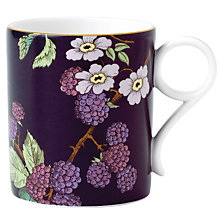 Buy Wedgwood Tea Garden Blackberry Mug Online at johnlewis.com