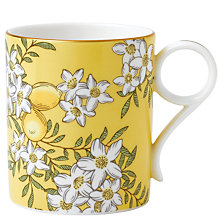 Buy Wedgwood Tea Garden Lemon & Ginger Mug Online at johnlewis.com