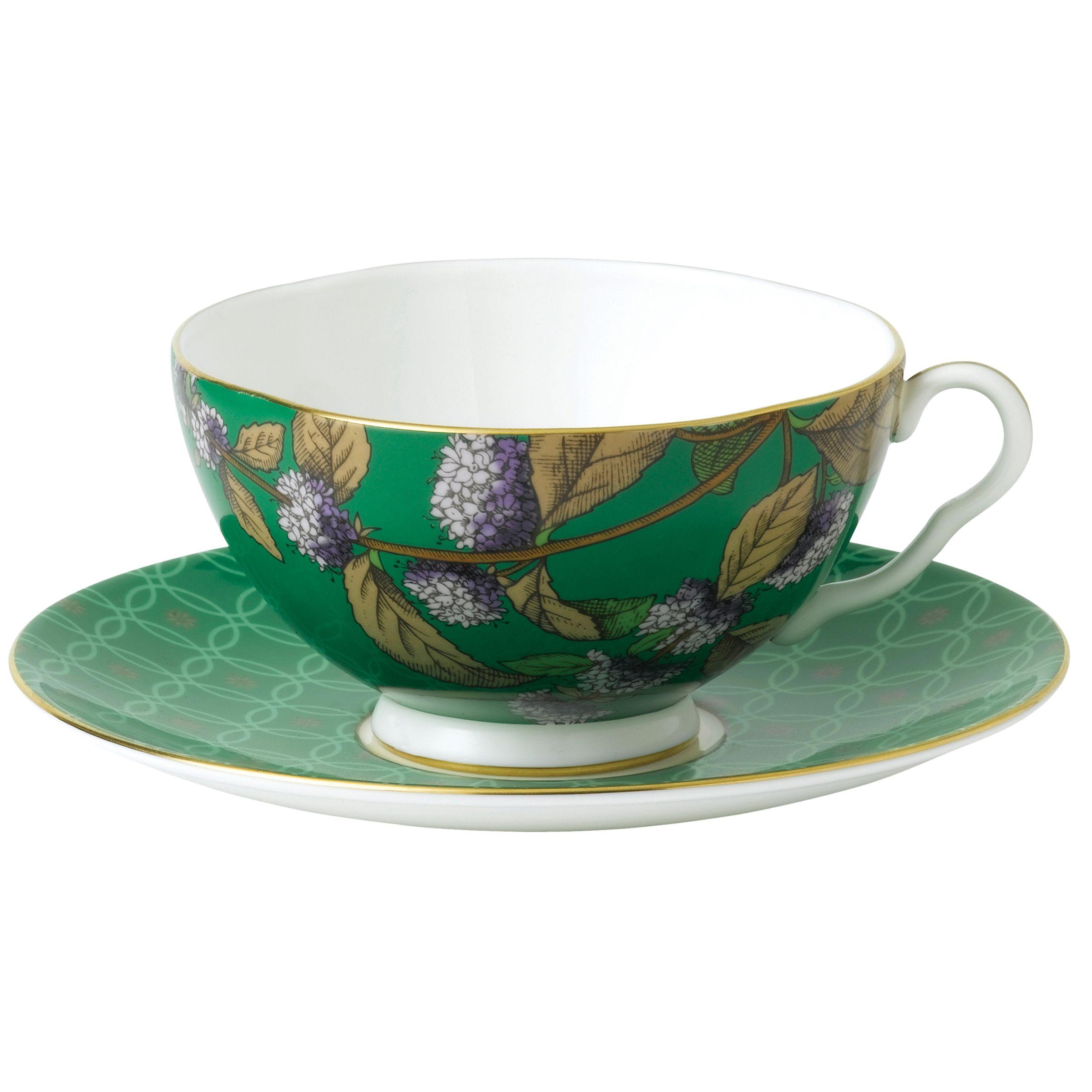 Wedgwood Wedgwood Tea Garden Green Tea & Mint Teacup & Saucer