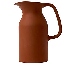 Buy Royal Doulton Olio Medium Jug, Red Online at johnlewis.com