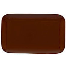 Buy Royal Doulton Olio Small Serve Platter, Red Online at johnlewis.com