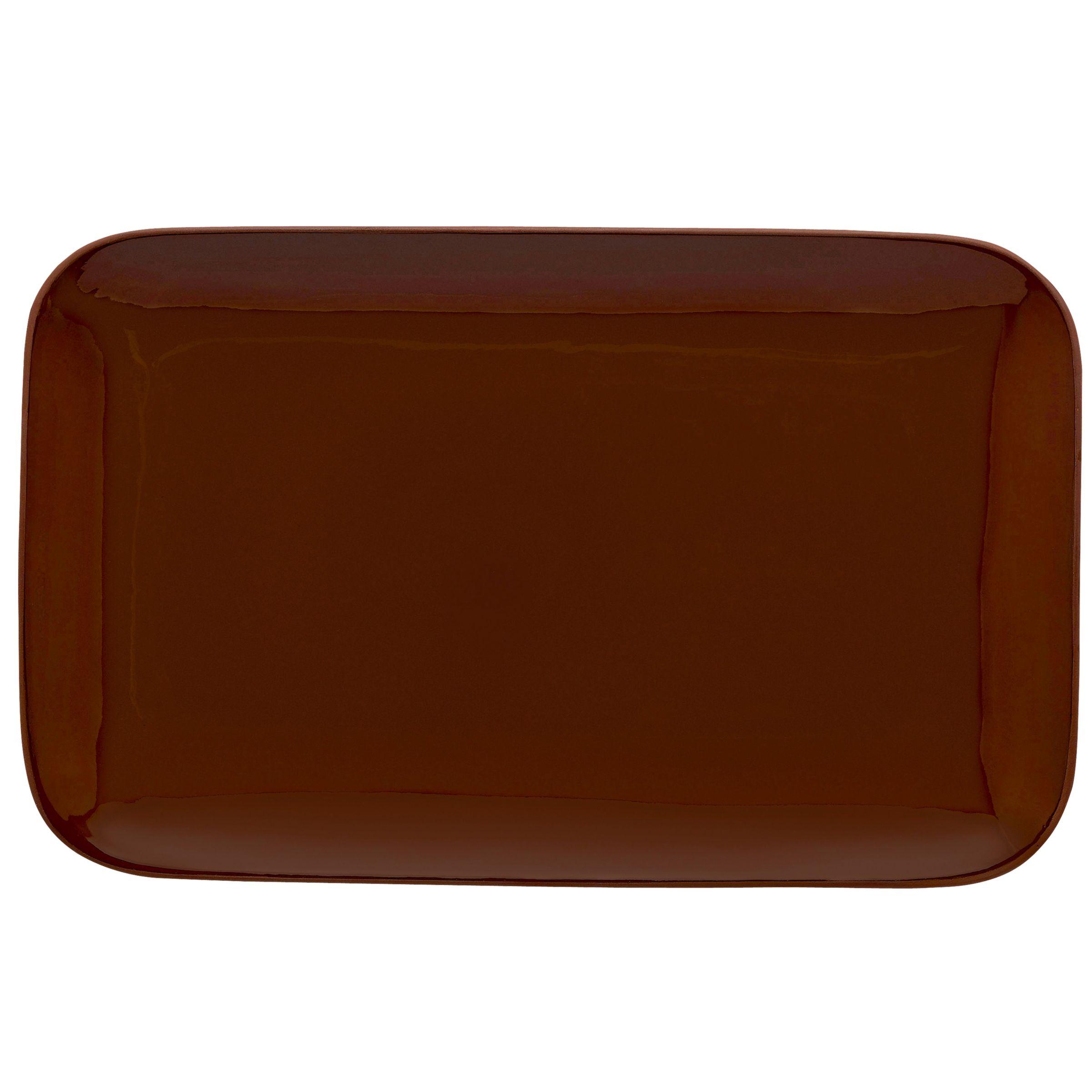 Royal Doulton Royal Doulton Olio Small Serve Platter, Red