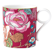Buy Wedgwood Tea Garden Raspberry Mug Online at johnlewis.com