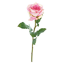 Buy Floralsilk Sylvana Rose Stem, Pink Online at johnlewis.com