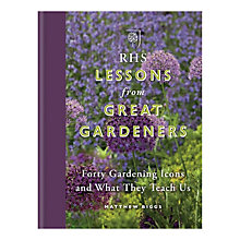 Buy RHS Lessons from Great Gardeners Online at johnlewis.com