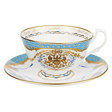 Buy Royal Collection Queen's 90th Birthday Cup & Saucer Online at johnlewis.com