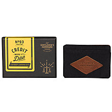 Buy Gentlemen's Hardware Card Holder, Charcoal Online at johnlewis.com