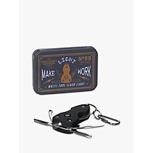 Buy Gentlemen's Hardware Multi Tool With Torch, Silver Online at johnlewis.com