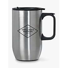 Buy Gentlemen's Hardware Stainless Steel Travel Mug Online at johnlewis.com