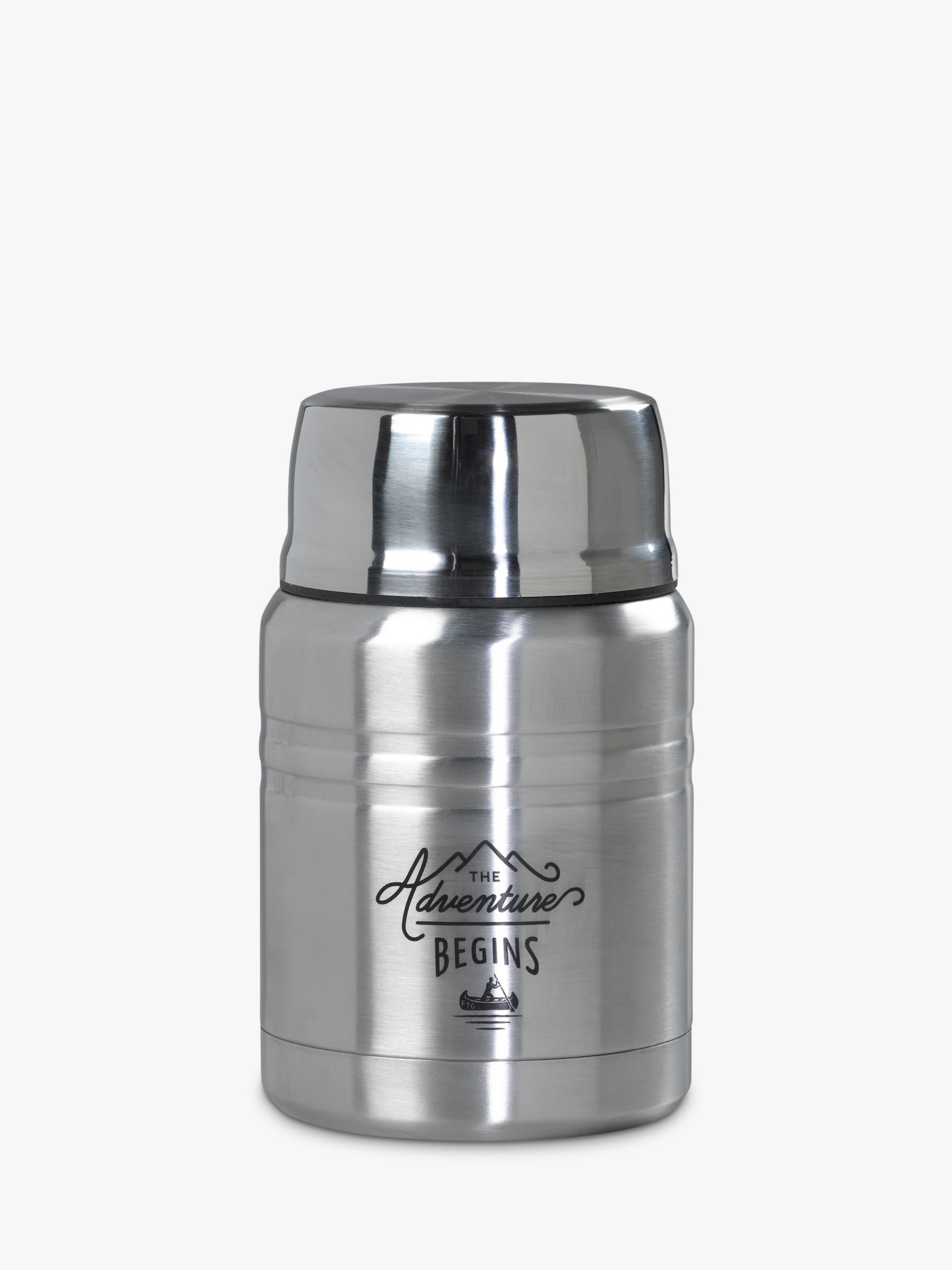Gentlemen's Hardware Gentlemen's Hardware Stainless Steel Food Flask with Spoon