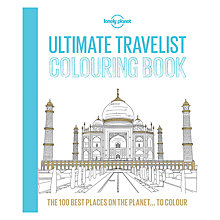 Buy Lonely Planet's Ultimate Travelist Colouring Book Online at johnlewis.com