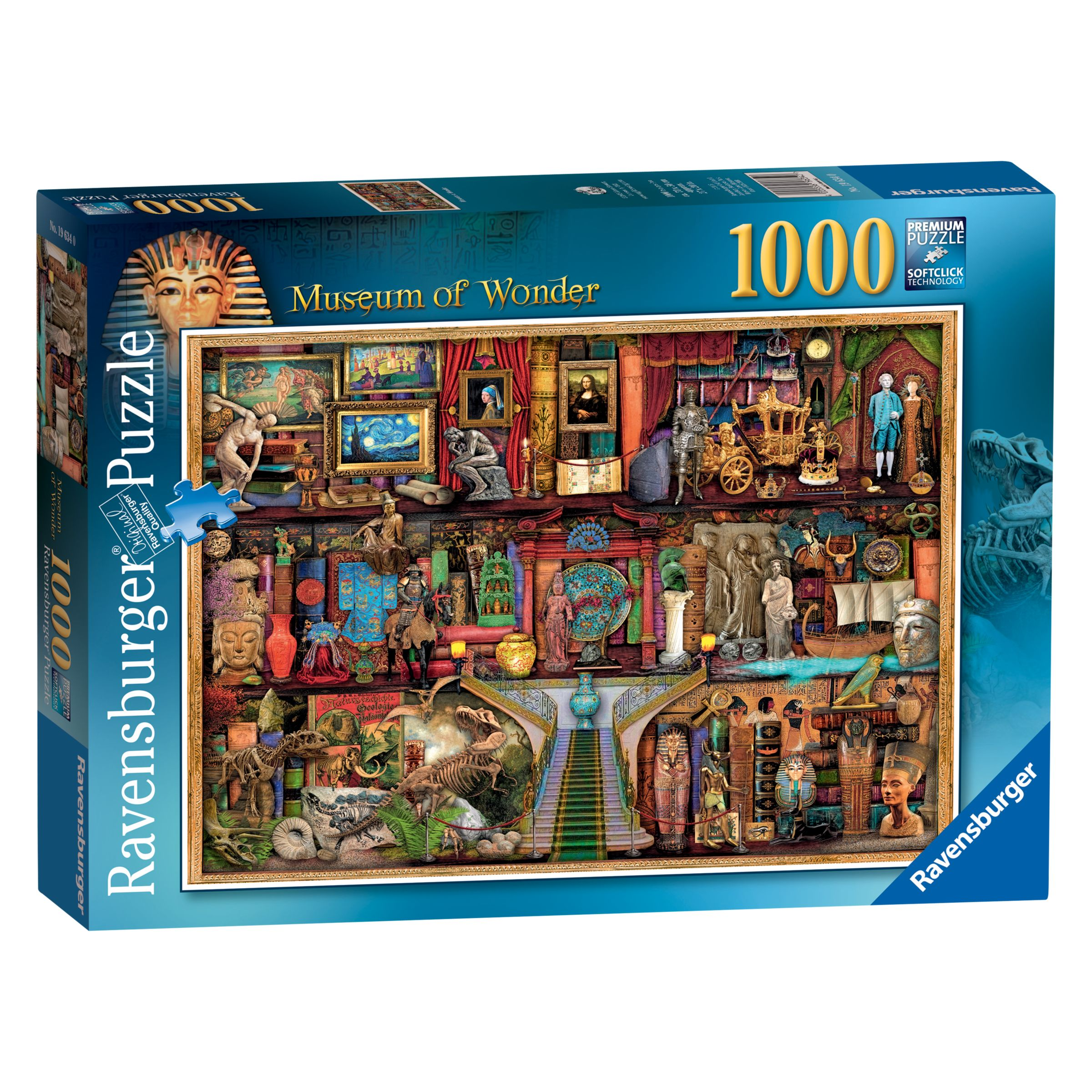 Ravensburger Ravensburger Museum of Wonder Jigsaw Puzzle, 1000 Pieces