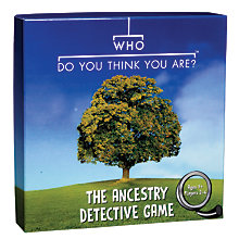 Buy Clarendon Games Who Do You Think You Are? Game Online at johnlewis.com