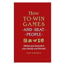 Buy How To Win Games Book Online at johnlewis.com