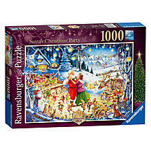 Buy Ravensburger Limited Edition Santa's Christmas Party Jigsaw Puzzle, 1000 pieces Online at johnlewis.com