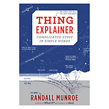 Buy Thing Explainer Book Online at johnlewis.com