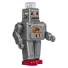Buy Cubic Spaceman Robot, Tin Online at johnlewis.com
