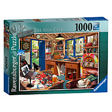 Buy Ravensburger The Man Cave Jigsaw Puzzle, 1000 Pieces Online at johnlewis.com
