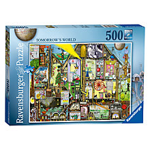 Buy Ravensburger Tomorrow's World 500 Piece Jigsaw Online at johnlewis.com