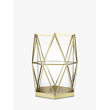 Buy John Lewis Geo Hurricane Lamp, Large Online at johnlewis.com