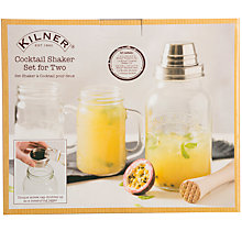 Buy Kilner Cocktail Shaker, Set of 2 Online at johnlewis.com