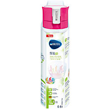 Buy Brita Fill & Go Filter Water Bottle, 0.6L Online at johnlewis.com