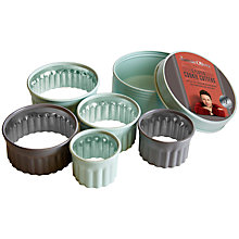 Buy Jamie Oliver Fluted Cookie Cutters, Set of 5 Online at johnlewis.com