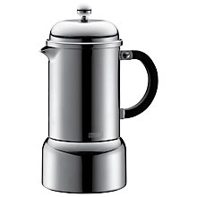 Buy Bodum Espresso 6 Cup Coffee Maker Online at johnlewis.com