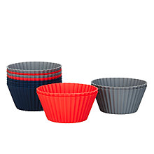 Buy House by John Lewis Silicone Cupcake Cases, Pack of 12 Online at johnlewis.com