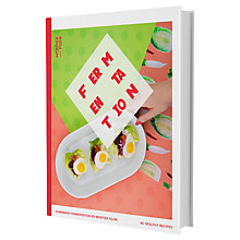 Buy Mortier Pilon Fermentation Recipe Book Online at johnlewis.com