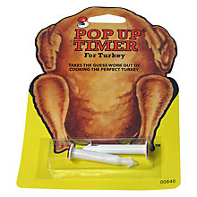 Buy Turkey Pop Up Timers, Set of  2 Online at johnlewis.com