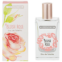 Buy Heathcote & Ivory Blush Rose Eau de Toilette, 50ml Online at johnlewis.com